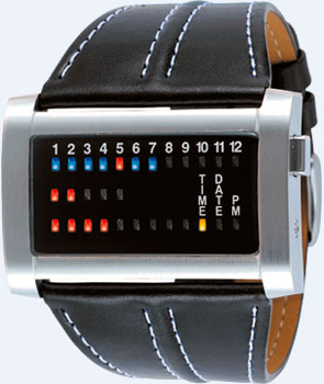 Binary watch The One Ibiza Ride (Ref. IRH102RB1)