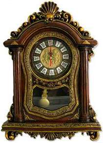table clock with pendulum