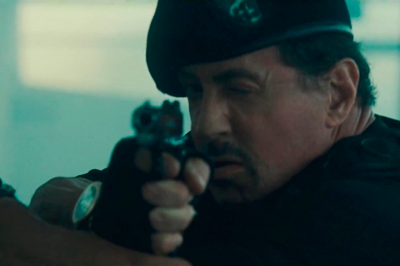 "frame of the film ""The Expendables 2"""