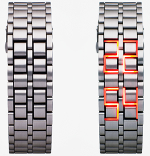LED watch from Japanese designer Hironao Tsuboi