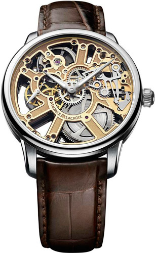 Masterpiece Squelette Automatic watch by Maurice Lacroix