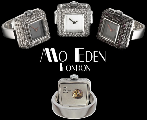 watch in form of rings Digit Watch by Mo Eden