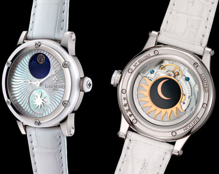Stardance watches by Louis Moinet