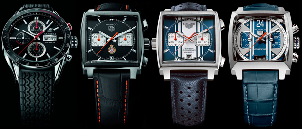 4 new models Tag Heuer in honor of Formula 1 Monaco Grand Prix
