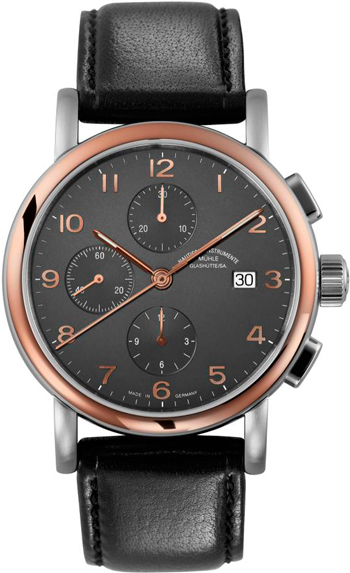 Antaria Chronograph watch by Mühle-Glashütte