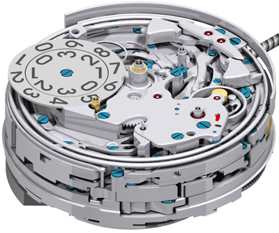 Zenith Grande Class Traveller Repetition Minutes watch movement