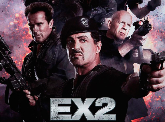 "poster of the film ""The Expendables 2"""