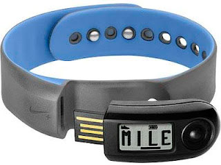 Nike SportBand (Mega Blue/Volt) watch
