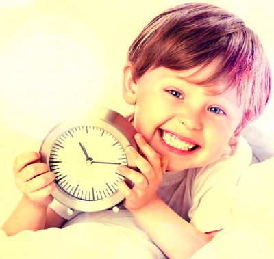 It is not an easy task to teach a child an understanding of time