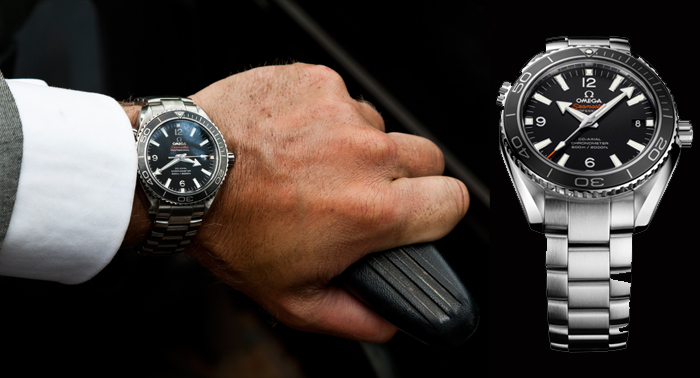 "Seamaster Planet Ocean 600M Omega Co-Axial Chronometer watch in ""007: Coordinates ""Skayfoll"""