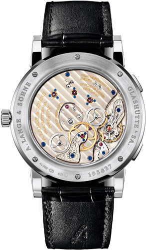 A.Lange & Sohne Lange 1 Time Zone watch caseback