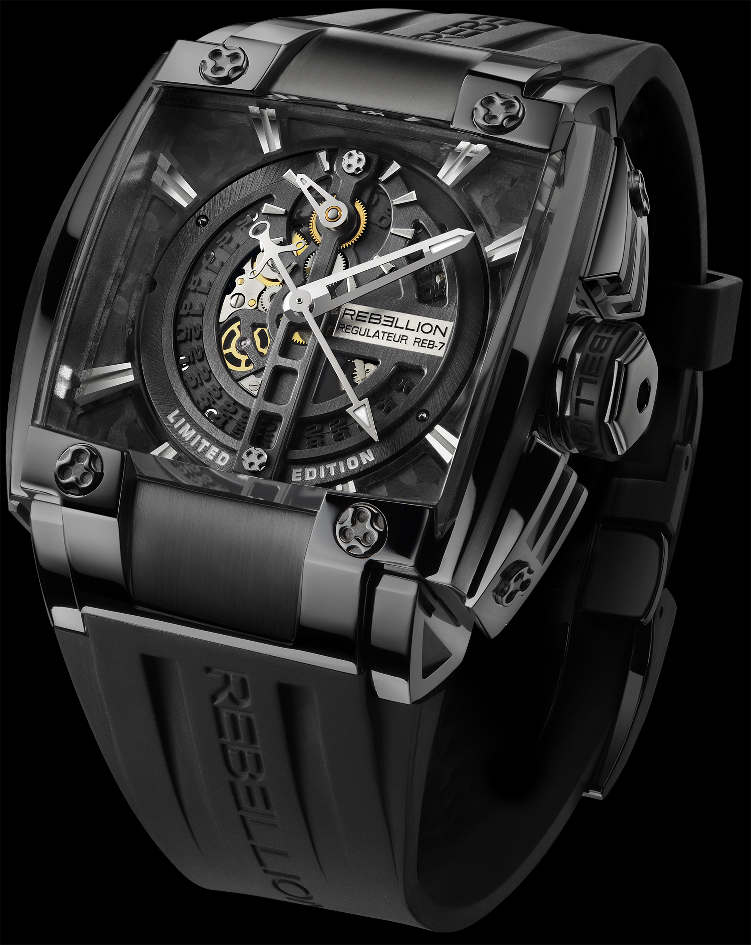 predator watches gallery behance rebellion tourbillon on