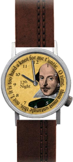 The Unemployed Philosophers Guild Shakespeare watch