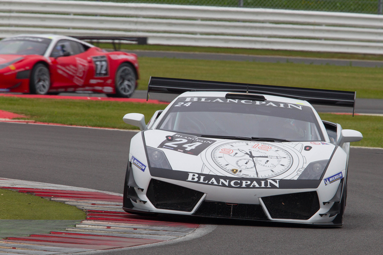 Lamborghini LP 600+ in action