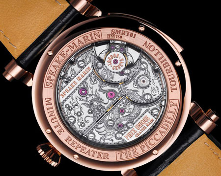 Speake-Marin Renaissance watch backside