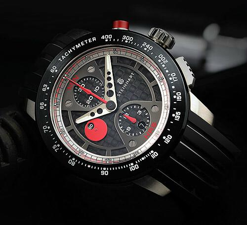 new le mans gt chronograph watch by steinhart. Black Bedroom Furniture Sets. Home Design Ideas