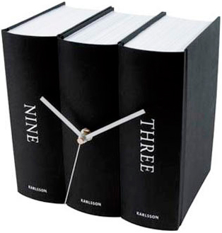 modern table clock