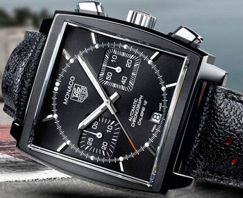 Black Edition Monaco Chronograph by TAG Heuer and ACM