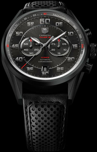 Carrera Calibre 36 Flyback Racing watch by TAG Heuer