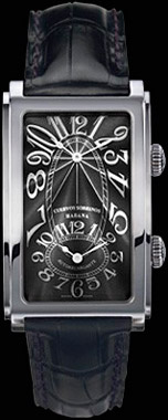 Cuervo y Sobrinos Prominente Dualtime watch