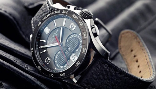 Chrono Classic 1/100th watch by Victorinox Swiss Army