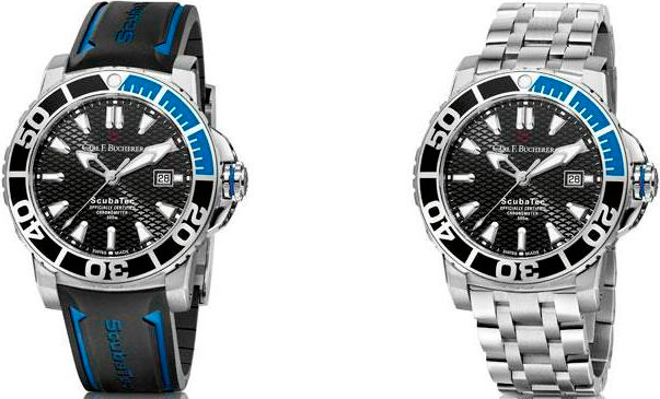 Patravi ScubaTec watches by Carl F. Bucherer
