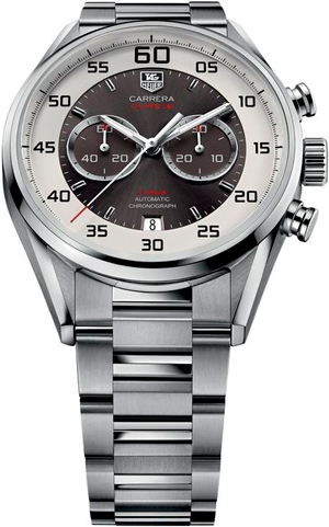 Carrera Calibre 36 Chronograph Flyback 43 mm watch by TAG Heuer