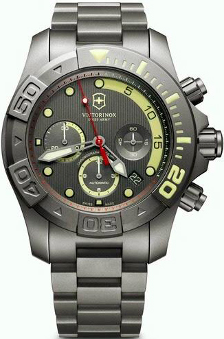 Dive Master 500 L.E. Chronograph watch by Victorinox Swiss Army