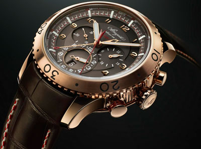 Type XXII Flyback Chronograph Gold watch by Breguet