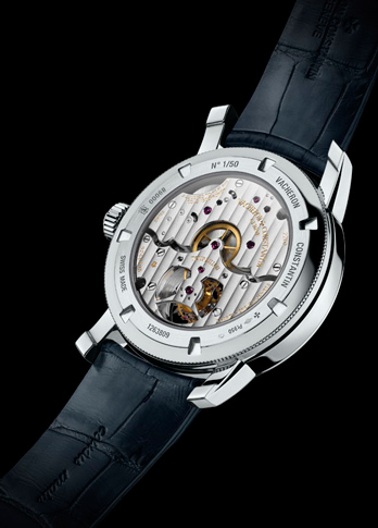 Vacheron Constantin Patrimony Traditionnelle 14-Day Tourbillon watch caseback