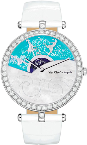 New Timepiece Lady Arpels: A Journey to Monaco by Van Cleef & Arpels for Only Watch 2013