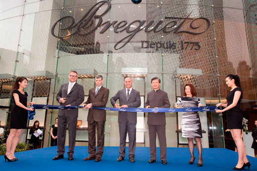 Breguet opened the Largest Boutique in Shanghai