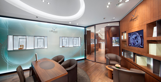 The Largest Breguet Boutique in Shanghai