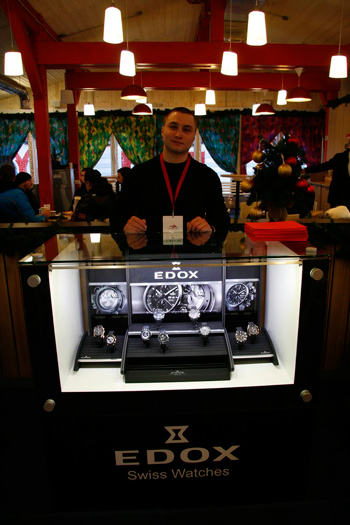 Edox Supports Red Square Classic Tournament