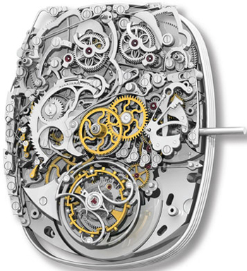 Franck Muller Aeternitas Mega 4 watch movement