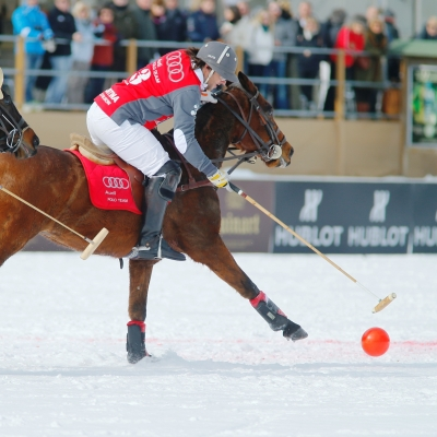 Hublot is the timekeeper of Cortina Winter Polo