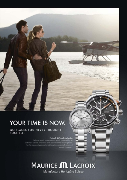 New Maurice Lacroix Advertising Campaign