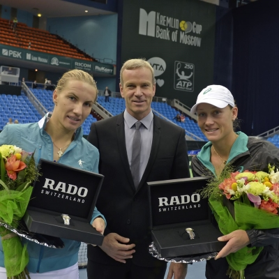 "Rado - an official timekeeper of ""Bank of Moscow. Kremlin Cup"""