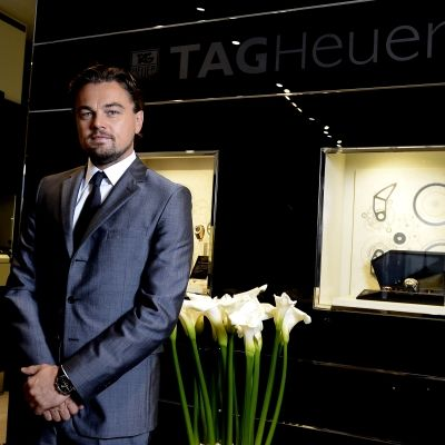The famous actor Leonardo DiCaprio visited the new boutique