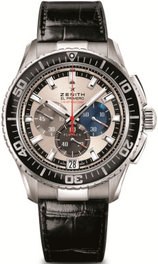 "Zenith El Primero Stratos Flyback Striking 10th Tribute to Felix Baumgartner Watch will ""jump"" from a height of 36,576 feet!"
