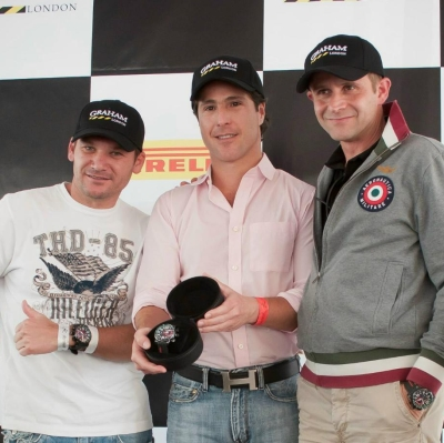 Graham presents a new watch model for the brand ambassador Mario Dominguez