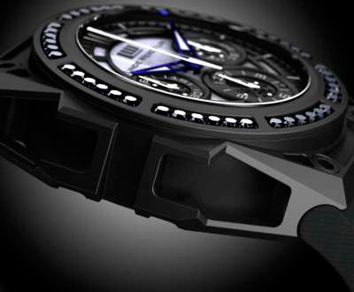 Black Diamond Chronograph watch