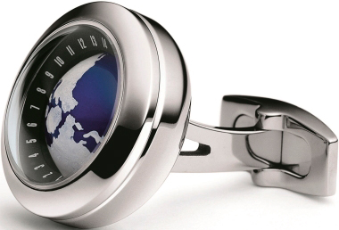 T-Fun Globe cuff link by TF Est. 1968