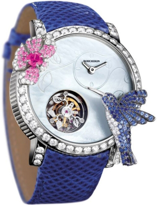 luxurious and refined – Boucheron Hibiscus Tourbillon