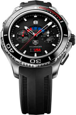 Aquaracer Calibre 72 Countdown Chronograph watch