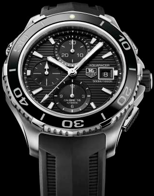 Aquaracer 500m Calibre 16 Chronograph watch