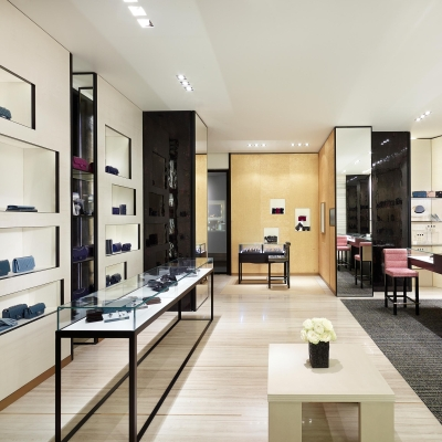 First Chanel boutique in St. Petersburg