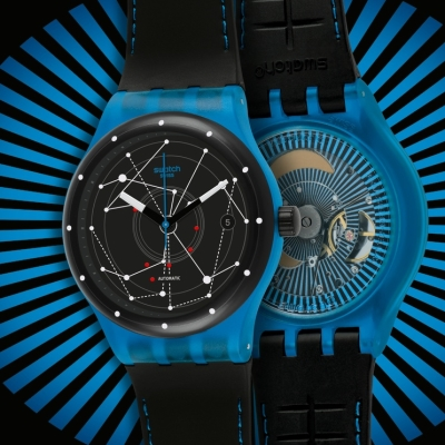 Swatch presents a new and unique mechanism - Swatch Sistem 51