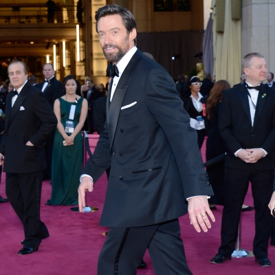 Hugh Jackman's wrist was decorated with the Piaget Altiplano 43 mm watch