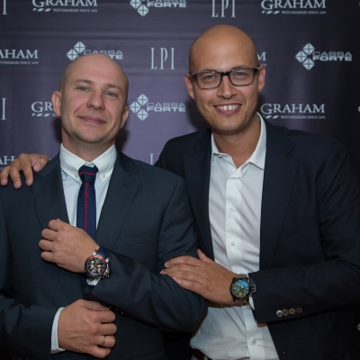 Graham novelties presentation in Moscow